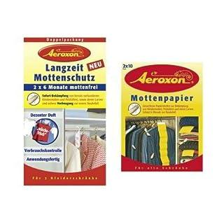 Aeroxon Langzeit-Mottenschutz zum Aufhängen, 6 Monate, 2-teilig (1 Set)