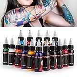 Professionelle Tattoofarbe Kit