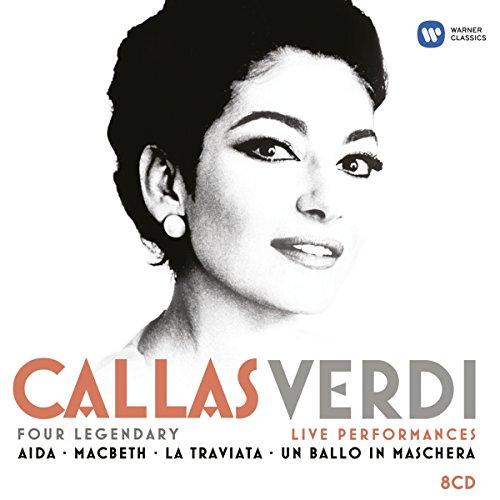 Callas & Verdi : Aïda, La Traviata, Macbeth, Un bal masqué (live)