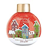 Avon Winterschaumbad Cranberry/Orange Kugelflacon 250ml