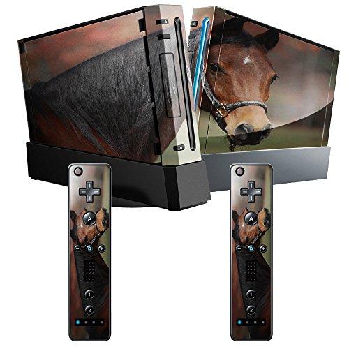 cavalli-10014-cavallo-marrone-skin-autoadesivo-sticker-adesivi-pelle-cover-decal-set-con-disegno-str