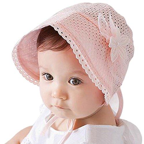 Zoylink Baby Sonnenhut, Sommer Baumwolle Hut Sonne Sonnenhut Mütze für Kinder Kleinkind
