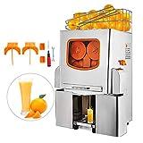 HODOY Spremuta Macchina Per il Succo D'arancia Juicer Spremiagrumi Commerciale Alimentazione Automatica/Acciaio Inossidabile (XC-2000E-3)