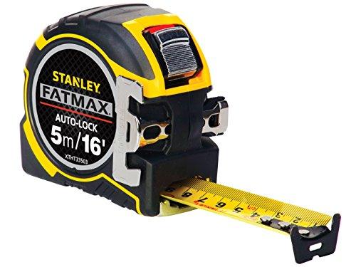Stanley tools ZSTA-0-33-503 - Herramientas 5m de cinta de bloqueo automático pro...