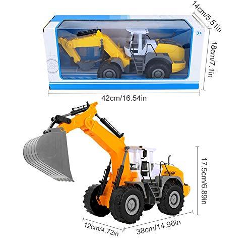RC Auto kaufen Baufahrzeug Bild 2: RC ferngesteuerter bagger kinder Baufahrzeug für Kinder ab 3 Jahren Spielzeugauto Kranwagen Bulldozer Bagger Kinder*