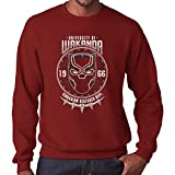 TeeTrumpet University of Wakanda Black Panther Men's Sweatshirt