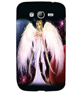 SAMSUNG GALAXY GRAND NEO PLUS ANGEL GIRL Back Cover by PRINTSWAG