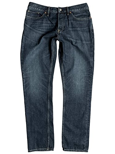 Herren Jeans Hose DC Washed Straight Jeans Dark Stone