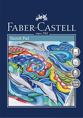 Faber Castell Blocco da disegno CS A5 Bianco