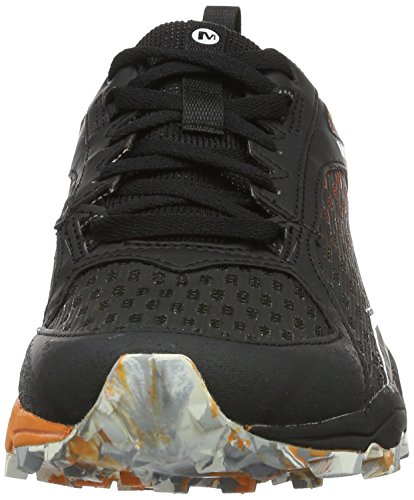 Merrell All Out Crush Tough Mudder, Chaussures de Trail Homme Multicolore (Orange)