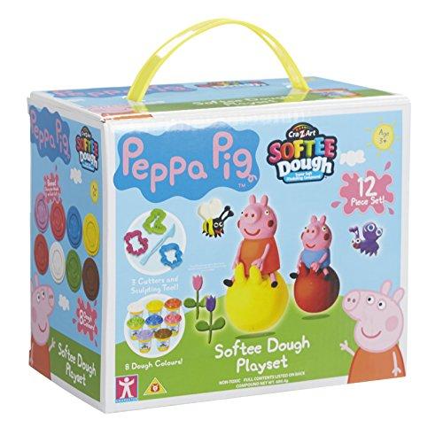 Peppa Pig Softee Dough Playset (Multi-Colour)
