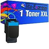 PlatinumSerie® 1 Toner kompatibel für Lexmark C540N XXL Cyan mit Chip