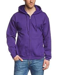 GILDAN - Sweat-shirt Homme - Gildan Adult 50/50 Cotton/Poly. Full Zip Hooded Sewat
