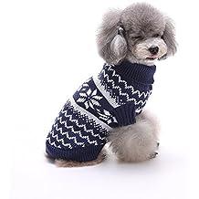 Fastar ropa para perros pequeños medianos sudaderas jersey de nieve impresiones para Osito de peluche