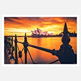 Crazyink Australian Beautiful Structure Poster (18 by 12 inch)