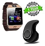 Forestone Dz09 Bluetooth Smart Watch with Camera & Sim Slot and S530 Mini