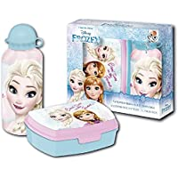 Disney Frozen Die Eiskönigin Brotdose und Aluminium Trinkflasche Set preisvergleich bei kinderzimmerdekopreise.eu
