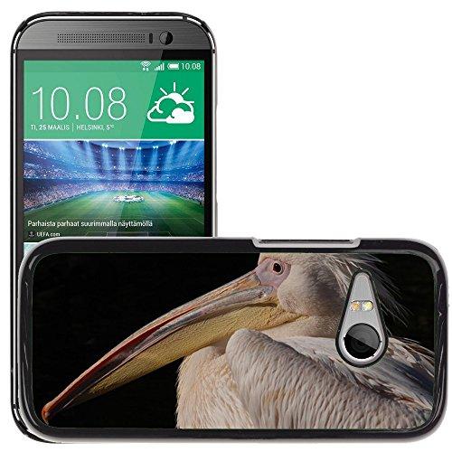 Nur Handy HOT STYLE HANDY PC Hard Case Cover//m00139255Great White Pelican Pelican//HTC One Mini 2/M8Mini/(passt nicht für M8) (Case Hard Mini Pelican)