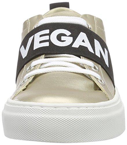 Jonny`s Vegan - Tayen, Scarpe da ginnastica Donna Oro (Gold (platino))