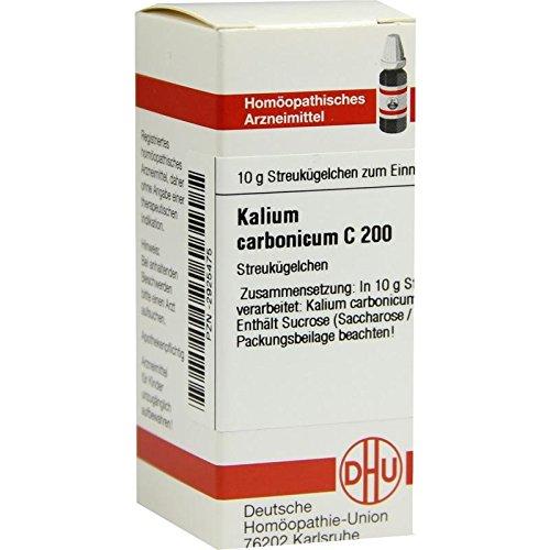 DHU Kalium carbonicum C200, 10 g Globuli