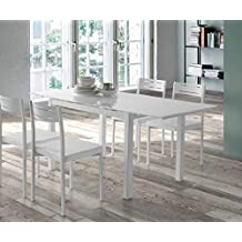 Amazon.es: Mesa De Cristal Extensible Para Comedor Ikea