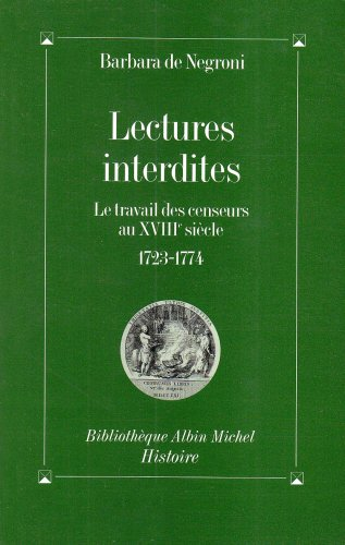 Lectures Interdites (Collections Histoire)
