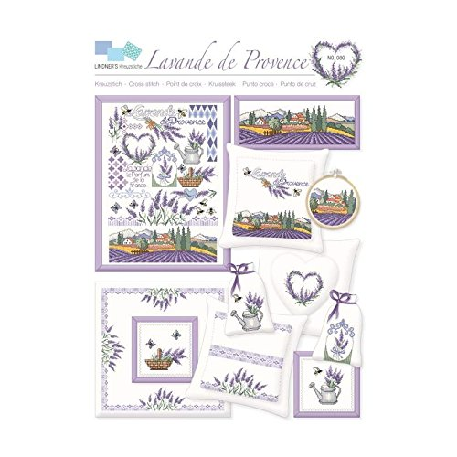 "Kreuzstich-Vorlage Nr. 80 ""Lavende de Provence"" - gezählter Kreuzstich"