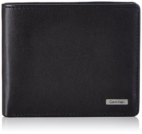 Calvin Klein Jeans RAIL 10CC K50K500720 Herren Geldbörsen 12x10x2 cm (B x H x T) Schwarz (Black 001)