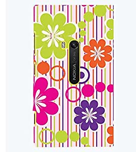 PRINTSWAG FLOWER DESIGN Designer Back Cover Case for NOKIA LUMIA 920
