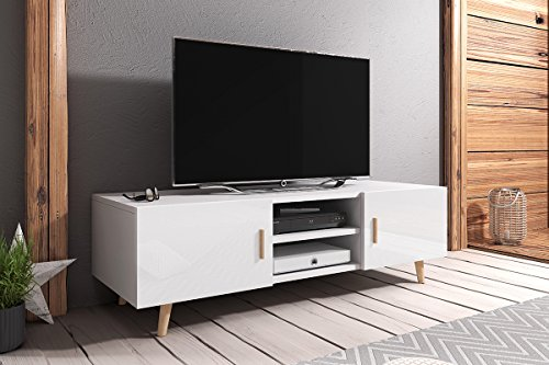 tv bank wei hochglanz und vergleiche waren gestern. Black Bedroom Furniture Sets. Home Design Ideas