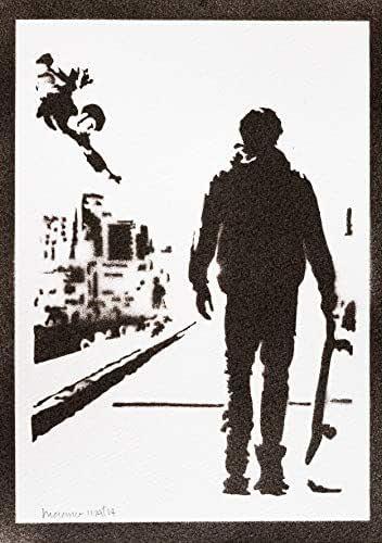 Poster Tony Hawk's Pro Skater Handmade Graffiti Street Art - Artwork