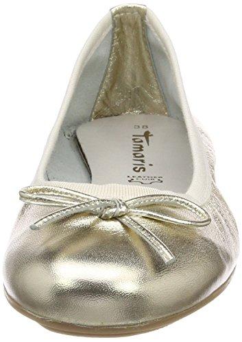 Tamaris 22165, Ballerine Donna Oro (or Clair 909)