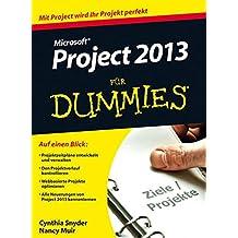 MS Project 2013 Für Dummies