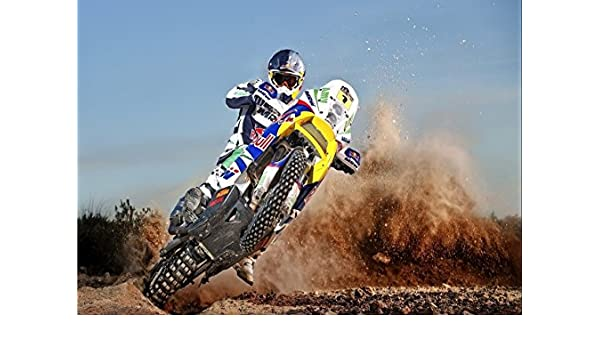 MOTOCROSS MOTORCROSS Photo Poster Print A4 260gsm
