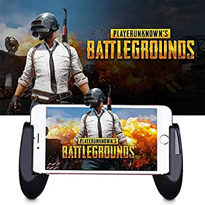 KOBWA Mobile Game Controllers, 2018 Newest PUBG Game pad Handgrip Joysticks Game Controller Sensitive Shoot Aim Buttons L1R1 for Fortnite/Rules of Survival/Knives Out for Android IOS