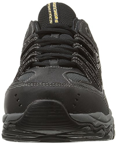 Sneaker Skechers Sport Afterburn mousse à mémoire de lacets Black