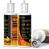 Slime ACTIVATOR Solution Borax for Slime Solution Substitute for Contact Lens Solution All in ONE Slime Activator - Add ONLY This to PVA Glue for Slime - Make 30 BATCHES or 3 litres of Slime - 250ml