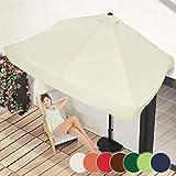 Sombrilla Cuadrada de Pared I 228 x 138 cm en 7 colores I Parasol para balcones...