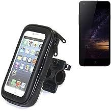 Montaje de la bici para Siswoo I8 Panther, montaje del manillar para smartphones / teléfonos móviles, de aplicación universal. Conveniente para la bicicleta, motocicleta, quad, moto, etc. repelente al agua, a prueba de salpicaduras a prueba de lluvia, sostenedor del teléfono móvil de la bicicleta. | Bastidores de bicicletas Bikeholder bicicletas Navi titular titular GPS Pannier Siswoo I8 Panther manillar montar la caja al aire libre