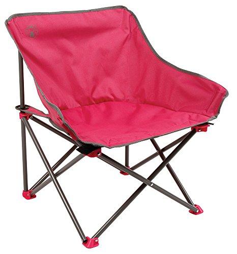 Coleman Chaise de Camping Kickback, chaise pliante compacte et légère, structure en acier, Fauteuil Pliable, pour les festivals, la pêche, la plage et le jardin