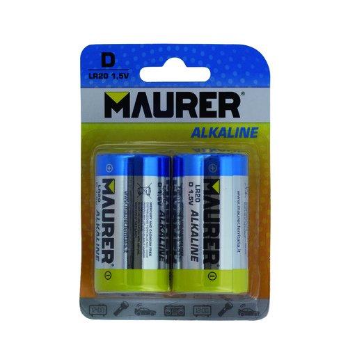 Maurer 19040105Maurer Alkaline Batterie lr-20(Blister 2-teilig - 20 Blister