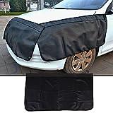 Sedeta® Veicoli auto PU Front Side Cover Pad Guardia Trim Protector Wterproof Anti fouling