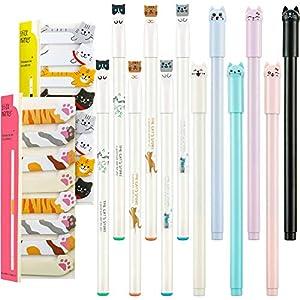12 Bolígrafos de Gato Lindo