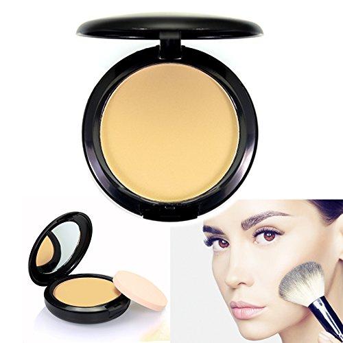 Puder, TOFAR Soft Compact Powder Frauen Make up Naturkosmetik Anti-Schweiß Make-Up Puder für jeden Hauttyp - #4