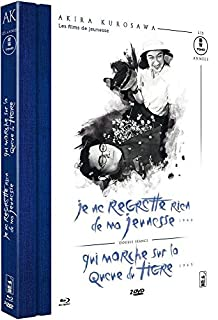Akira Kurosawa - Les films de jeunesse : Je ne regrette rien de ma jeunesse + Qui marche sur la queue du tigre... [Combo BLU-RAY + 2 DVD + Livret] [Blu-ray] (B010EFKOAQ) | Amazon price tracker / tracking, Amazon price history charts, Amazon price watches, Amazon price drop alerts