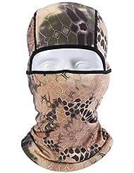 ecyc al aire libre equitación pasamontañas Bandana máscara de protector solar a prueba de viento plena cuello, mujer hombre, A05:10