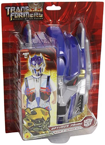 Rubie 's–i-5327–Kostüm–Set Kostüm–Transformers–Optimus Prime–Tunika bedruckt + ()
