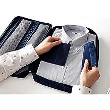 wjkuku® - Accesorio de equipaje para guardar la camisa y la corbata sin que se arruguen
