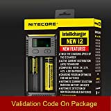 Best NEW Rechargeable Batteries - MA NITECORE New I2 Digital smart rechargeable battery Review