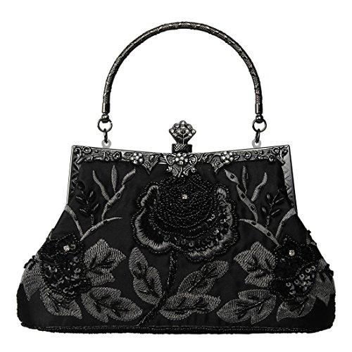 ecosusi-vintage-seed-beaded-rose-wedding-bag-party-clutch-prom-evening-handbag-black